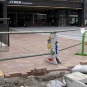 都市型側溝可変アングルタイプ/兵庫県姫路駅前